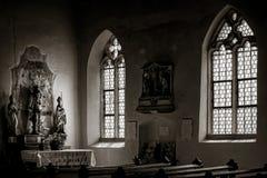 Chapelle Saint-Sebastien de Dambach-la-Ville , Alsace Stock Photos