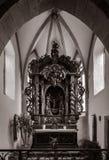 Chapelle Saint-Sebastien de Dambach-la-Ville , Alsace Royalty Free Stock Images