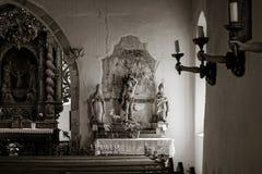 Chapelle Saint-Sebastien de Dambach-la-Ville , Alsace Stock Photography