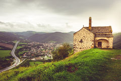 Chapelle Sainte-Madeleine in Massiac, Auvergne, France Royalty Free Stock Photography