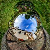 Chapelle Sainte Sebastien little planet Royalty Free Stock Photos