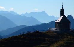 Chapelle sur la côte Photo stock