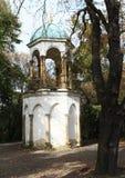 Chapelle sur la côte de Petrin Photographie stock