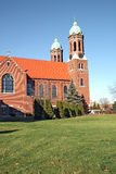 Chapelle sur une verticale de campus d'université Image stock