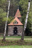 Chapelle in the woods Royalty Free Stock Photography