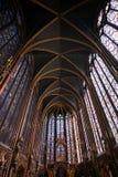 chapelleparis sainte Arkivfoton