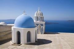 Chapelles en Grèce Photos libres de droits