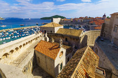 Chapels of Announcement and of St. Luke, Dubrovnik Stock Photo