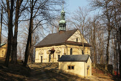 Chapels in kalwaria Royalty Free Stock Photos