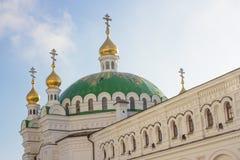 Chapels of the Refectory Church, Kiev Pechersk Lavra in Kiev, the capital of Ukraine Stock Photos