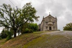 Chapels of Sra. do Pilar stock images