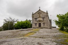 Chapels of Sra. do Pilar royalty free stock images