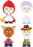 Chapeuzinho Puppets Stock Image