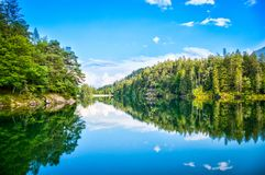 The Chapfensee in Mels Stock Image