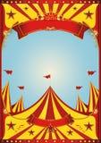Chapiteau de cirque de ciel Image stock