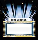 Chapiteau de film de Broadway Image libre de droits