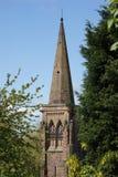 Chapitel de la iglesia Fotos de archivo