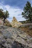 Chapitel del granito Imagen de archivo libre de regalías