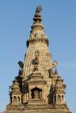 Chapitel del templo hindú Imagenes de archivo