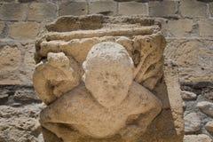 Chapitel in Larnaka-Fort Lizenzfreie Stockfotos