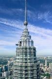 Chapitel y rascacielos Foto de archivo libre de regalías