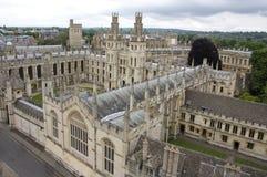 Chapiteles de Oxford Foto de archivo