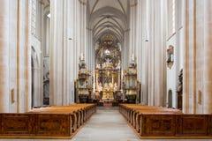 Chapitre Zwettl de cathédrale Photographie stock