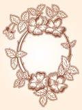 Chaplet цветка бесплатная иллюстрация