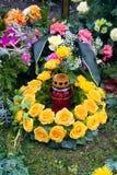 chaplet róże Zdjęcie Royalty Free