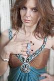 chapletmodekvinna Fotografering för Bildbyråer