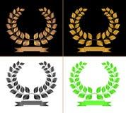 Chaplets van de laurier. Royalty-vrije Stock Fotografie