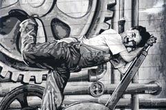 chaplin Τσάρλυ Στοκ εικόνες με δικαίωμα ελεύθερης χρήσης