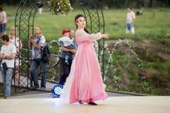 Chaplygin Lipetsk region, Juli 27, 2018 år Beröm av dopet av Ryssland royaltyfri bild