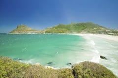 Chapmanï ¿ ½ s对大西洋全景的峰顶驱动和Hout咆哮,南开普敦半岛,在开普敦外面,南Afri 免版税库存图片