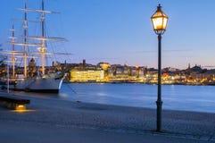 Chapman d'Af, Stockholm, Suède Images libres de droits