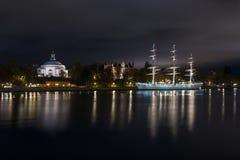Chapman grand d'AF de bateau à Stockholm, Suède photos stock