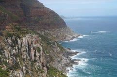 Chapman& x27; s峰顶在开普敦,南非 免版税库存图片