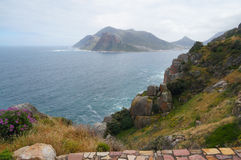 Chapman's peak in Cape Town, South Africa. Royalty Free Stock Images
