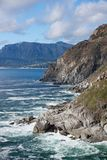 Chapman's Peak cliff view Stock Photo