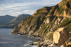 Chapman's Peak Cliffs Royalty Free Stock Photo