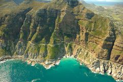 Chapman's Peak Drive Royalty Free Stock Images