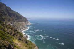 Chapman's Peak. Drive along the Atlantic ocean Stock Photo