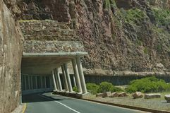 Chapman's Peak Drive. Awesome road to Cape of Good Hope. Stock Image