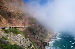 Chapman's Peak drive Cape Town Royalty Free Stock Image
