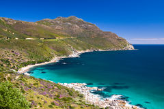 Chapman's Peak Drive Overview Royalty Free Stock Images