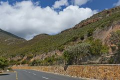 Chapman's Peak Drive. Place for repose. Royalty Free Stock Photos