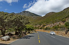 Chapman's Peak Drive. Place for repose. Stock Images