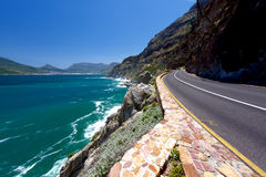 Chapman's Peak Pass Cape Town Royalty Free Stock Photography