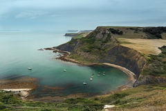 Chapman's Pool Anchorage Royalty Free Stock Images
