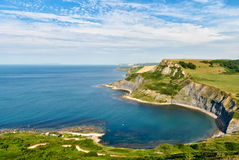 Chapman's Pool and the Dorset coast Stock Images